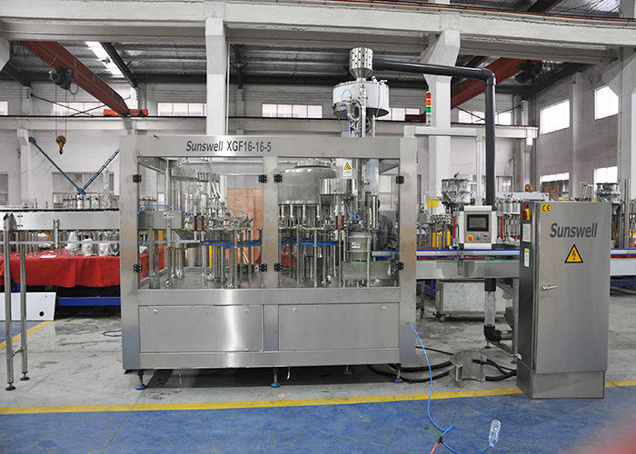 3L - 15L Automatic Water Filling Machines With Rinsing Filling Capping Monoblock