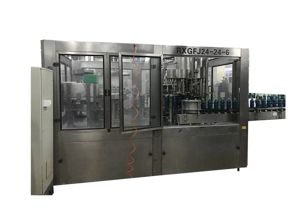 Automatic Liquid Juice Filling Machine Beverage Bottling Packaging A - Z Production Line