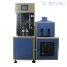 Fully automatic Stretch Blow Molding Machine with 4 cavities make for juice, vitamin drink supplier