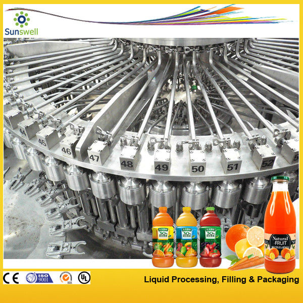 High-speed Hot Filling Machine , Raspberry / Strawberry Juice Processing Machine