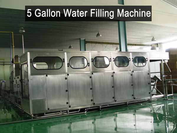 Big Bottle 5 Gallon Water Filling Machine Liquid Plant Equipment supplier