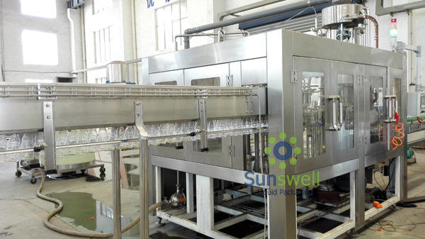 Automatic PLC Hot Fruit Liquid Filling Machine High Capacity
