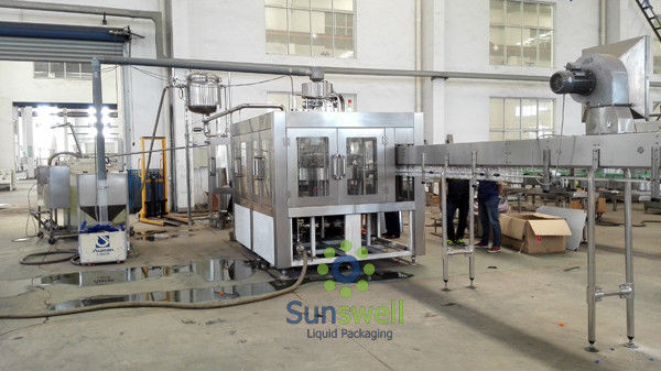 High Speed Stainless Steel  Filling Machine Juice Production Line supplier