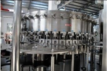 2.2KW PET bottles Soda water filling machine system 18 heads 3,000BPH (500ml) Capability supplier