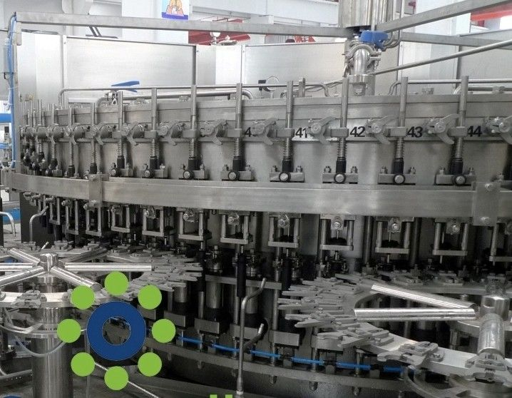 15KW Carbonated Soft Drink PET or Glass Bottle monoblock rinsing filling capping machine supplier