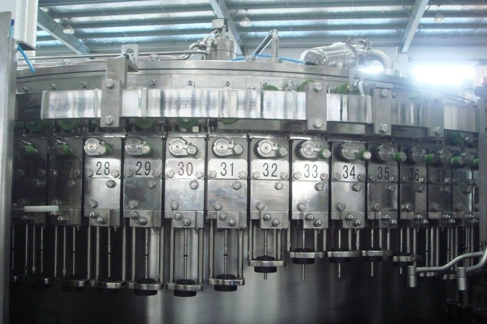 Glass Bottle carbonated beverage filling machine bottling equipment 5,000BPH (500ml)