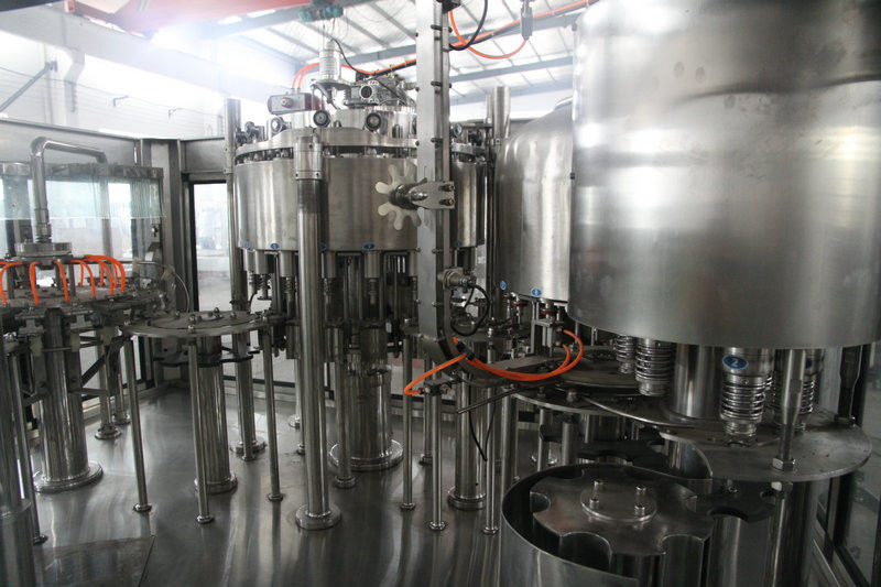 4 in 1 non-carbonated juice Pulp Piston Filling monoblock Machine 304 stainless steel supplier