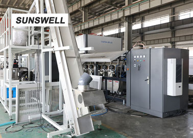 Carbonated Drink Filling And Capping Machine , Bottled Water Production Line