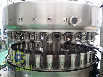 China Powerful  Automatic Aluminum Can Filling Machine For Beverage Juice / Beer Soda factory