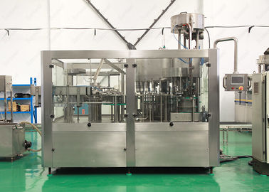 China 3 In 1 Mineral Water Packing Machine , Pure Drinking Water Bottle Filling Machine factory