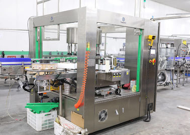 China Automatic Bottle Labeling Machine For OPP Hot Melt Glue Label Sticker factory