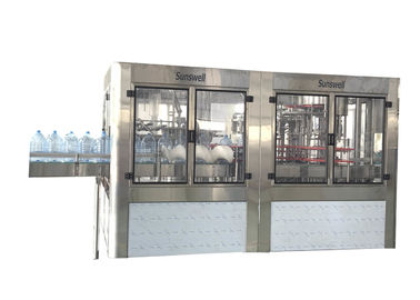China Low Noise Washing And Capping Automatic Water Bottle Filling Machine For Pet factory