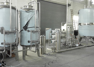 China Beverage / Drinking Small Scale Water Purification Plant For Pure Water Treatment factory
