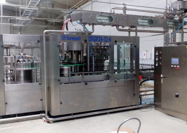 China Pet Bottle Liquid Production Line Rinsing Filling Capping 3 In 1 Monoblock Machine factory