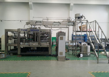 China Full Automatic Carbonated Beverage Filling Machine For Plastic Bottling Production Plant factory