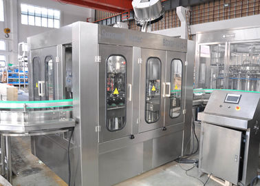 China 3000BPH - 24000BPH Automatic Carbonated Filling Machine For PET / Glass Bottle factory