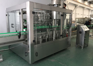 China CO2 Carbonated Sparking Water Bottle Filling Equipment , Juice Filling Machine factory