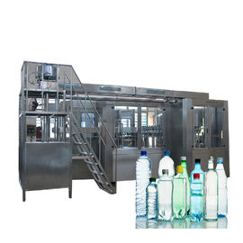 China Complete Automatic Water Bottle Filling Machine With Washing Screwing 3 In 1 Monoblock factory