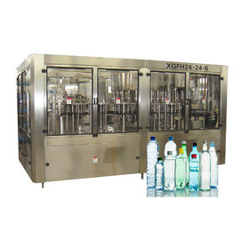China Pure Water Filling Machines Spring Rinser Filler Capper CE ISO SGS Certification factory
