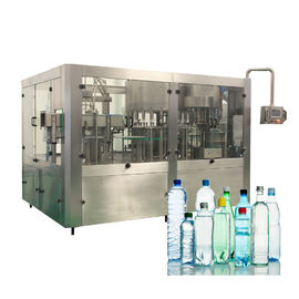 China Liquid Plastic Bottle Monoblock Water Filling Machines For Industrial Use factory