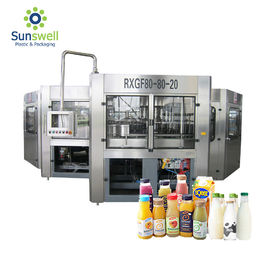 China Reliable Liquid Juice Beverage Bottle Filling Machine Packaging Line Fully Automatic factory