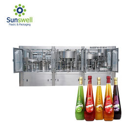 China Sus Automatic Small Scale Juice Processing Machine Package Production Line factory