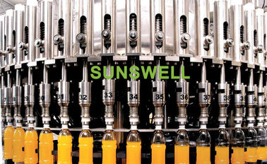Bottling Automatic Juice Filling Machine / Bottled Juice Processing Equipment