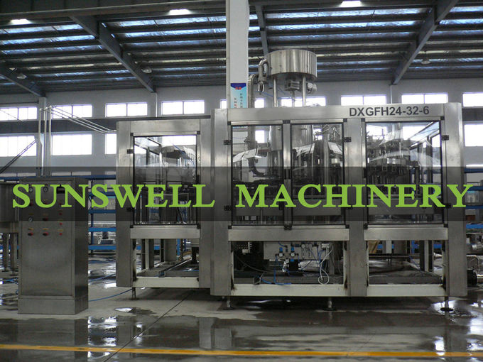 5000BPH Carbonated Filling Machine , Carbonated Soda Water Filling Line